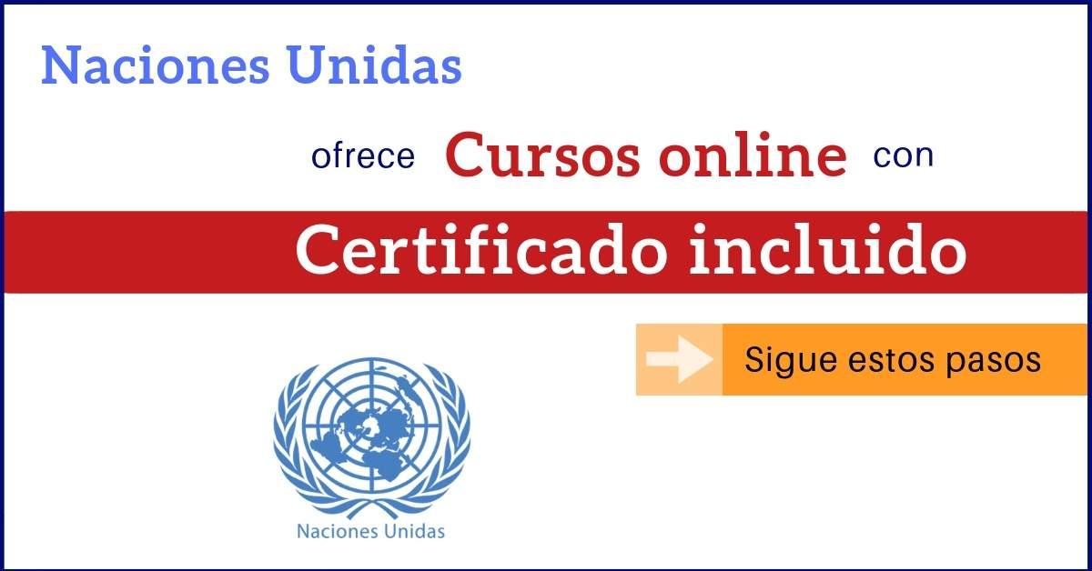 Naciones Unidas Da 29 Cursos Onu Online Gratuitos Con Certificado